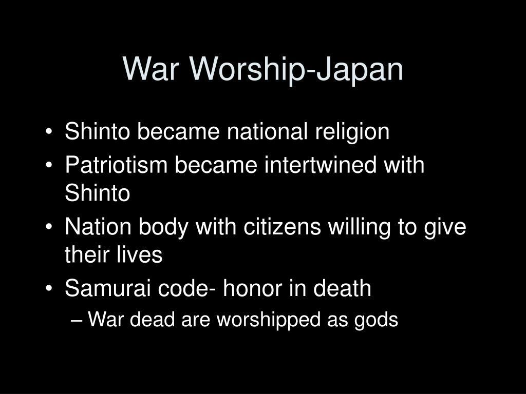 War Worship-Japan