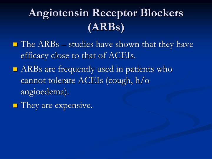 Angiotensin Receptor Blockers (ARBs)