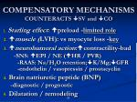 compensatory mechanisms counteracts sv and co