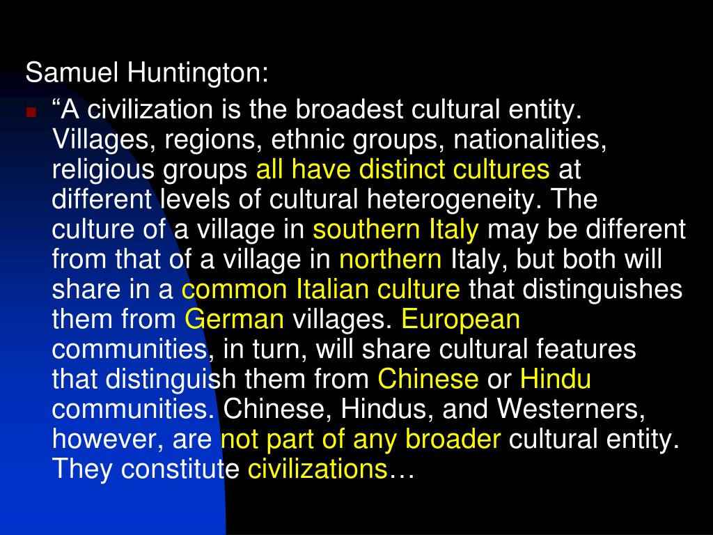 Samuel Huntington: