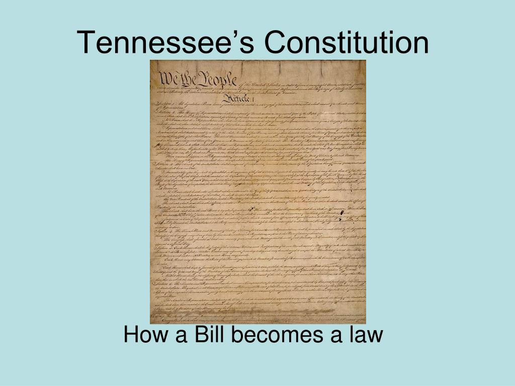 Tennessee's Constitution