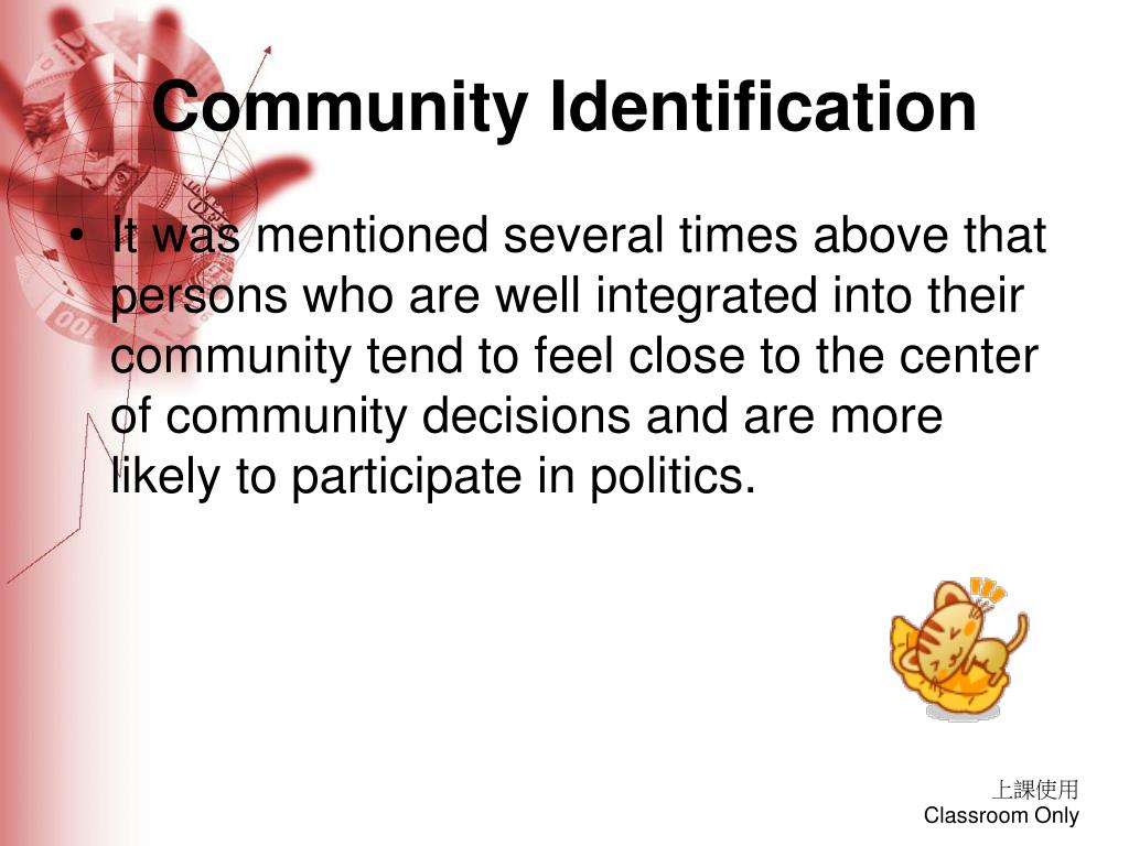Community Identification