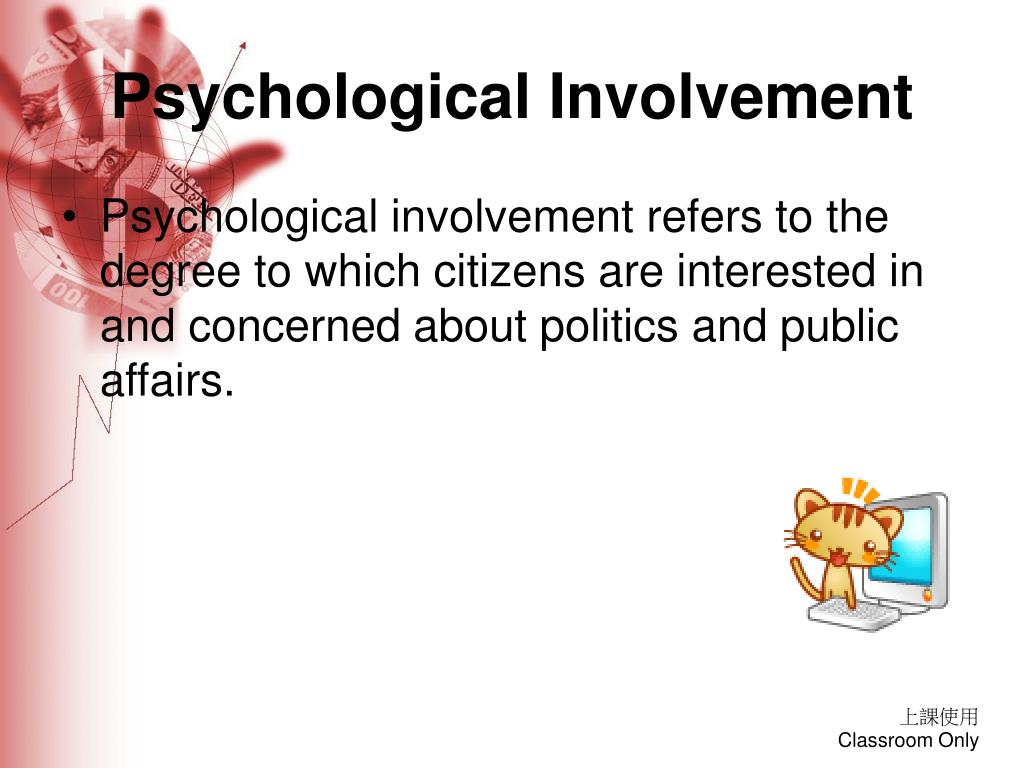 Psychological Involvement