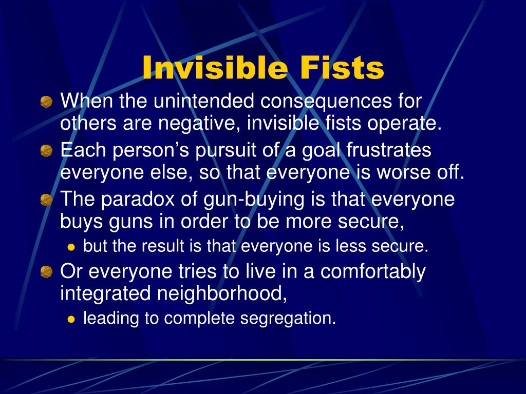 Invisible Fists