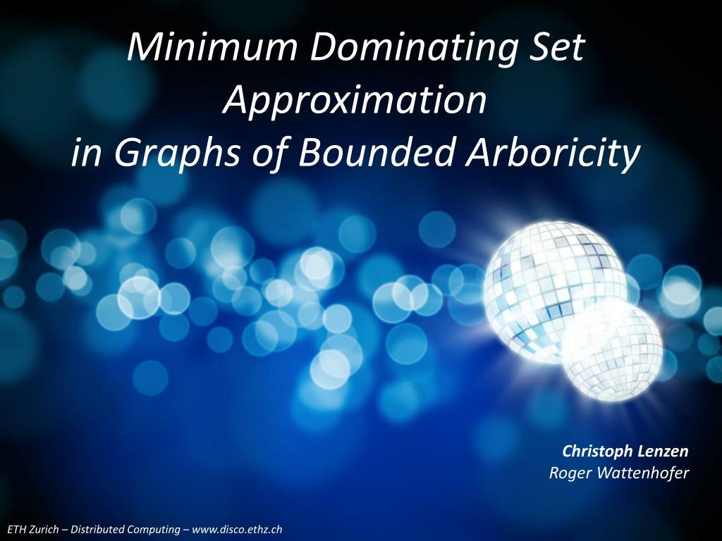 Minimum Dominating Set