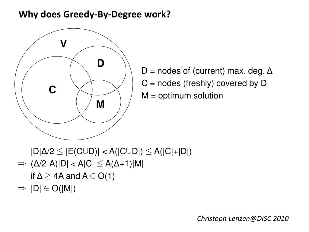 Why does Greedy-By-Degree work?