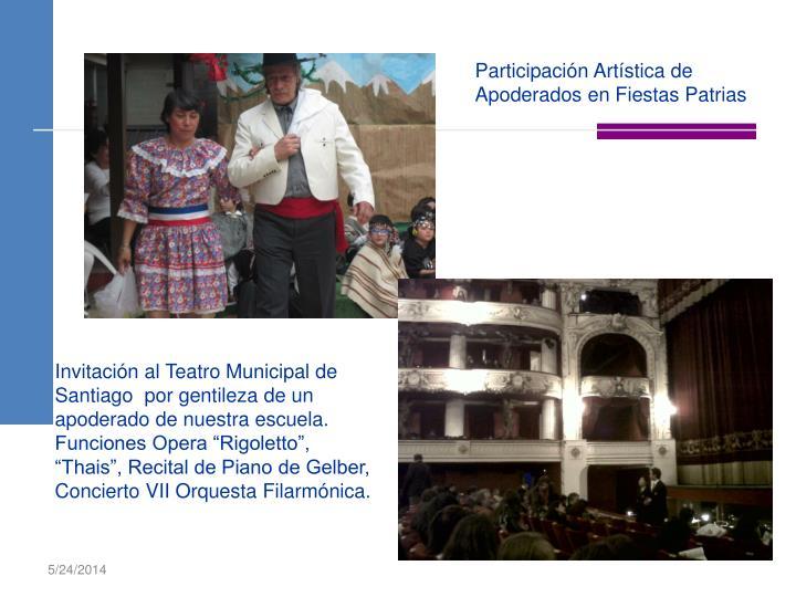 Participación Artística de Apoderados en Fiestas Patrias