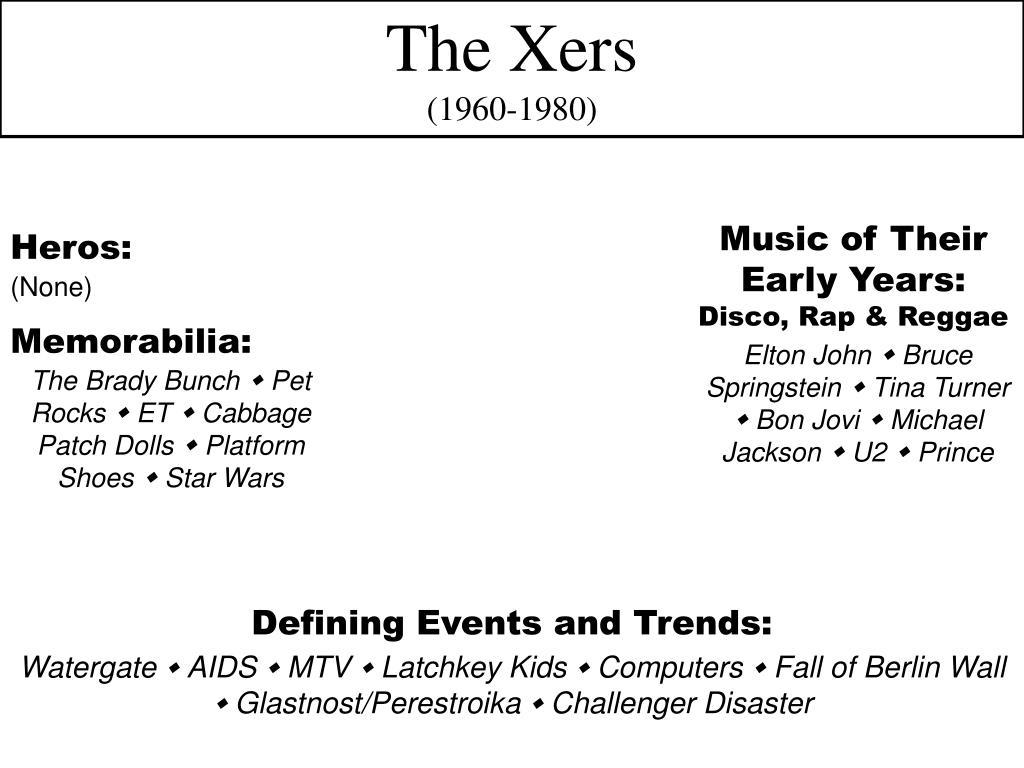 The Xers