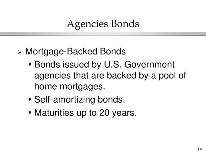 Agencies Bonds