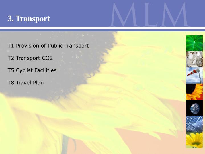 3. Transport