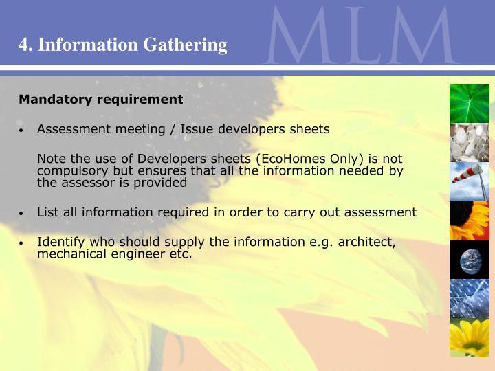 4. Information Gathering