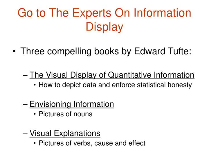 Go to The Experts On Information Display