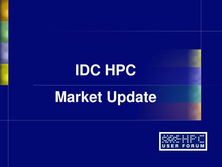 IDC HPC
