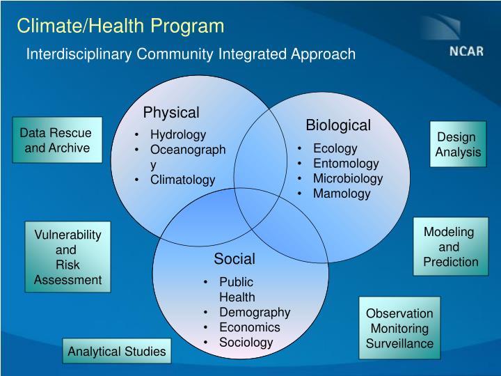 Climate/Health Program