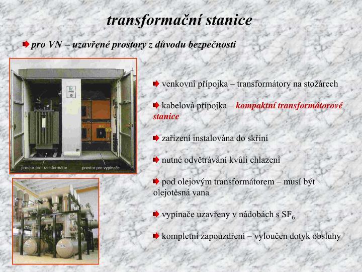 transformační stanice