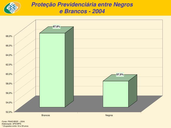 Proteção Previdenciária entre Negros