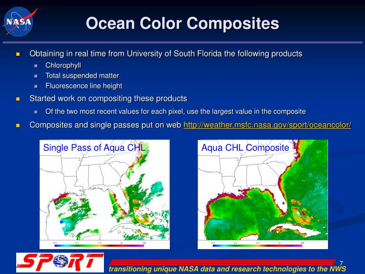 Ocean Color Composites