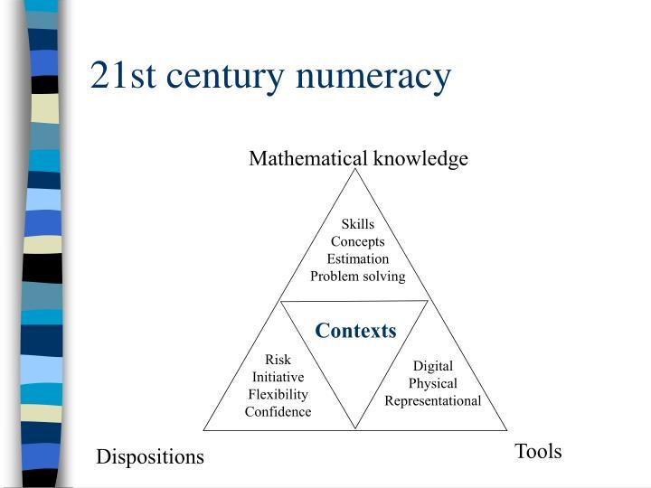 21st century numeracy