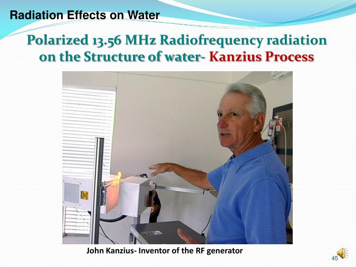 Radiation Effects on Water