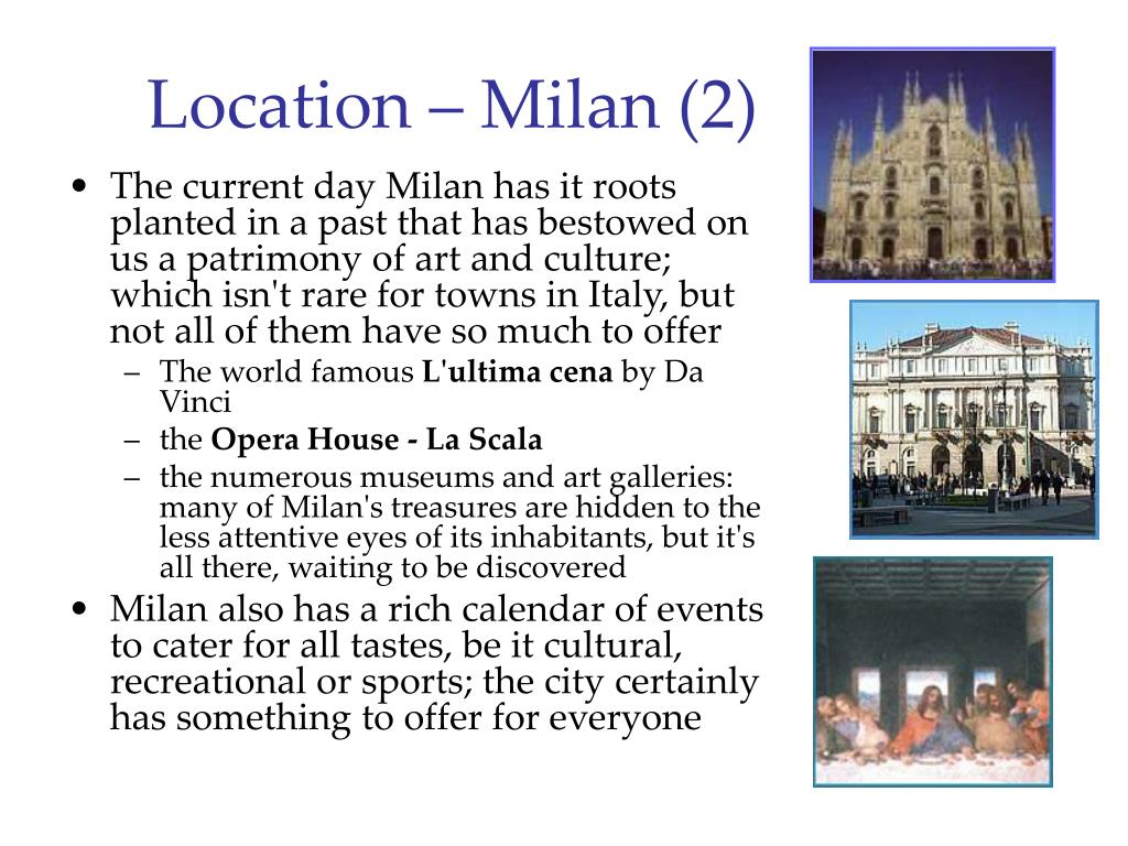 Location – Milan (2)