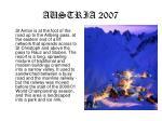 austria 20073