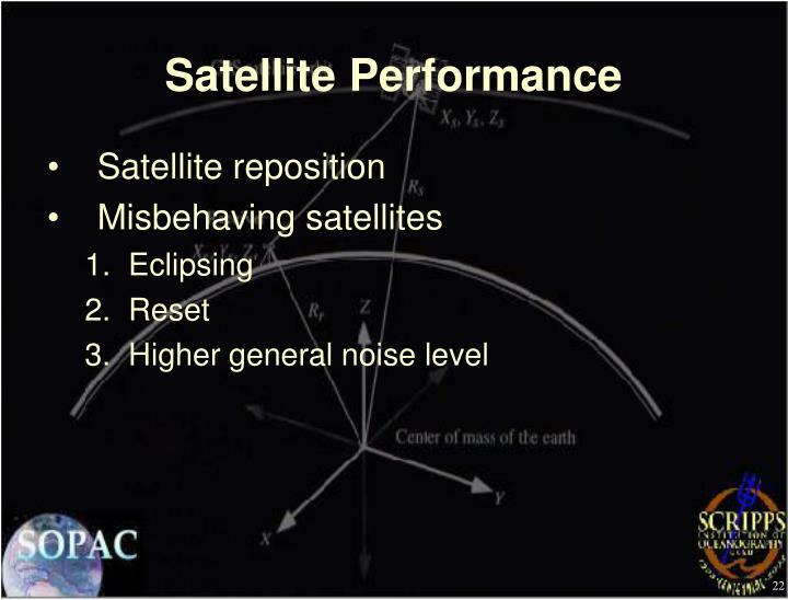 Satellite Performance