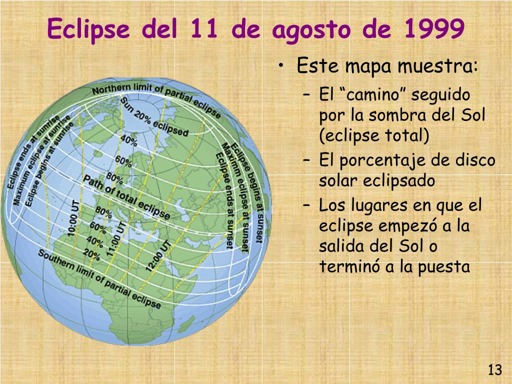 Eclipse del 11 de agosto de 1999