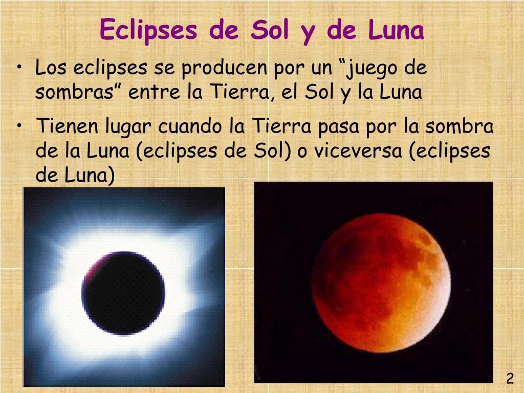 Eclipses de Sol y de Luna