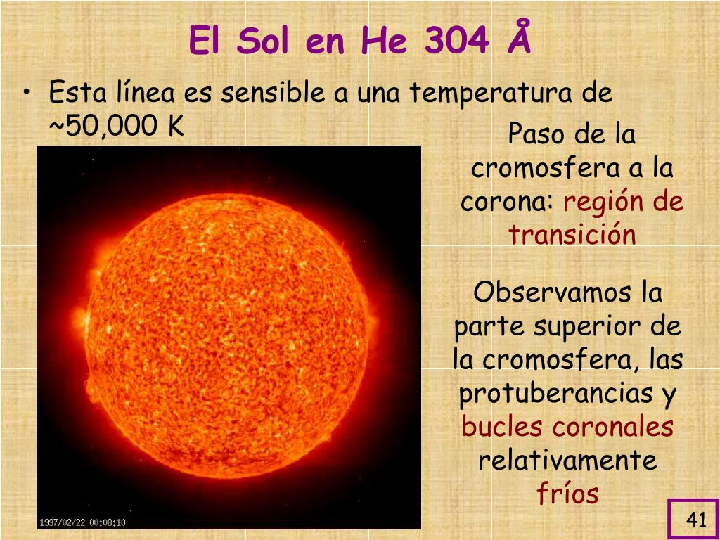 El Sol en He 304