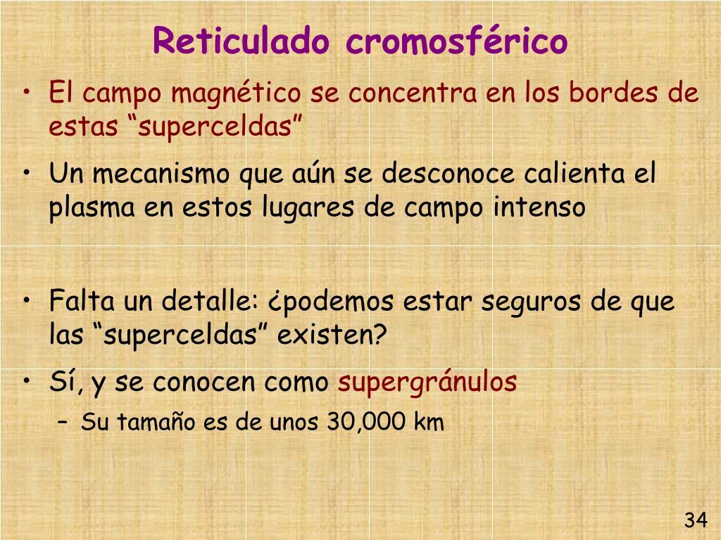 Reticulado cromosférico