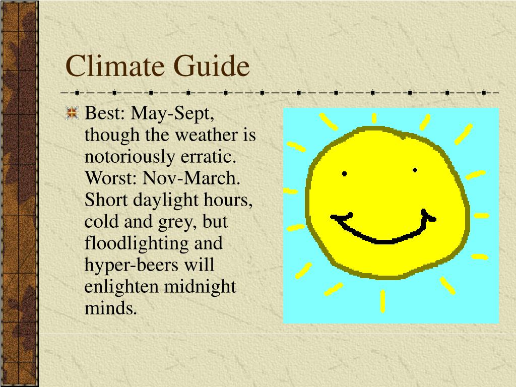Climate Guide