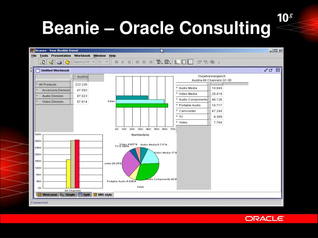 Beanie – Oracle Consulting