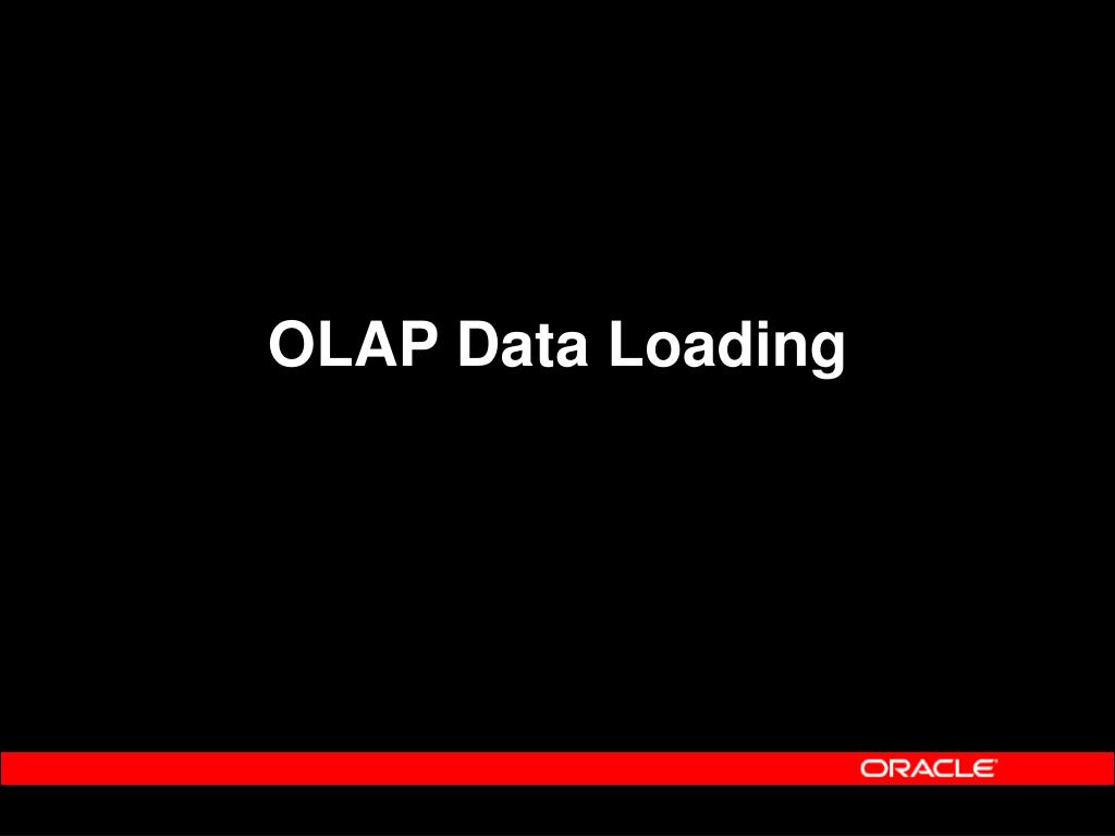 OLAP Data Loading
