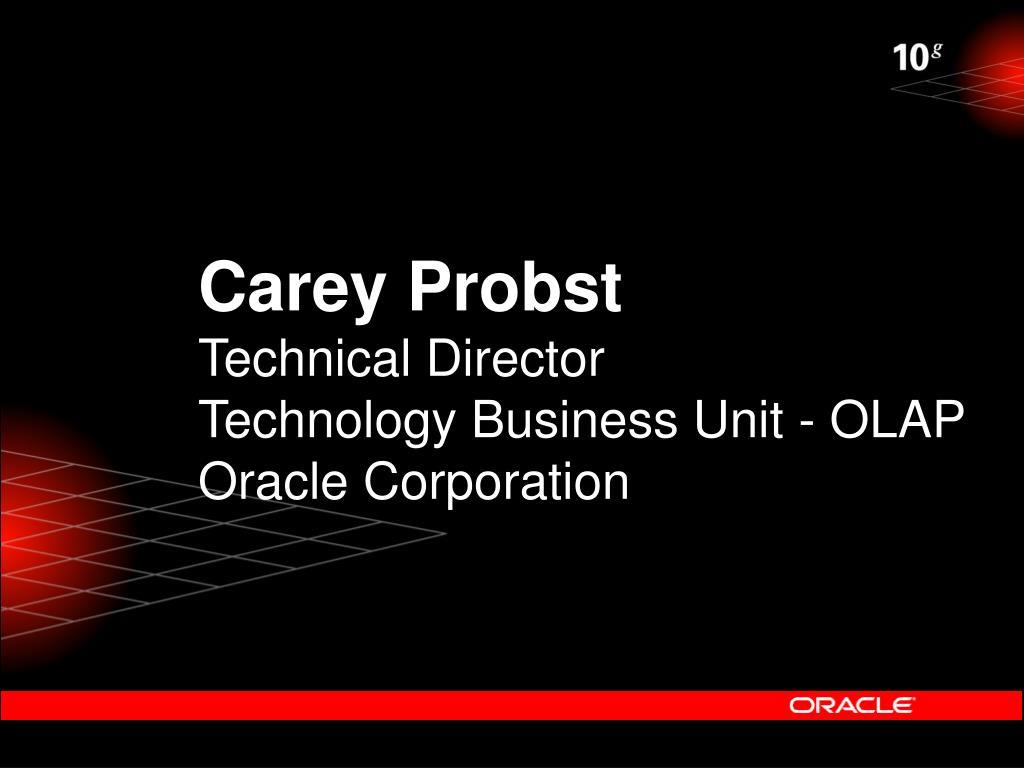 Carey Probst