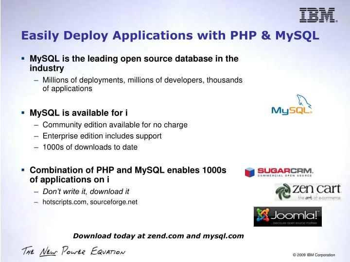 Easily Deploy Applications with PHP & MySQL