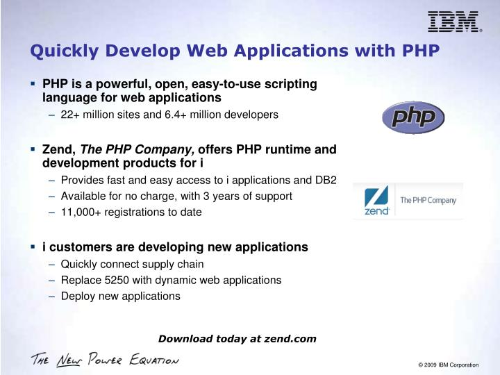 Quickly Develop Web Applications with PHP