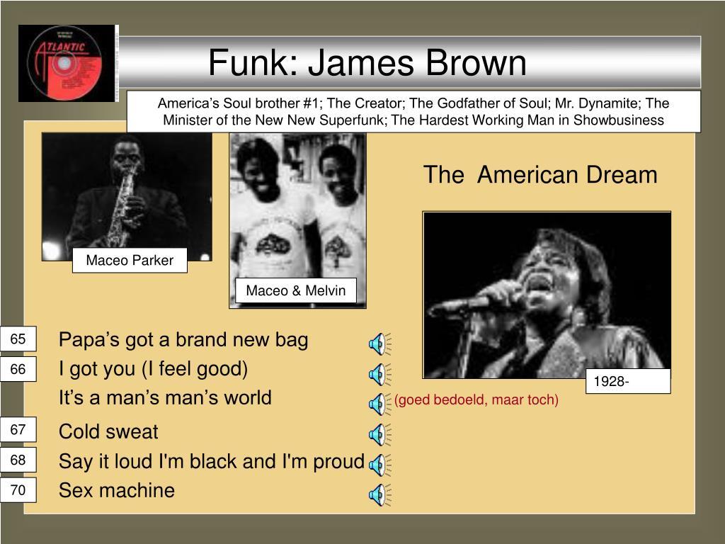 Funk: James Brown