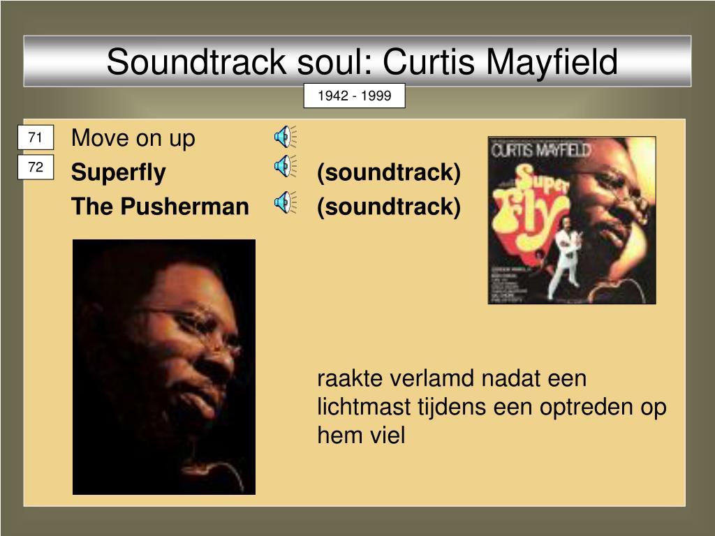 Soundtrack soul: Curtis Mayfield