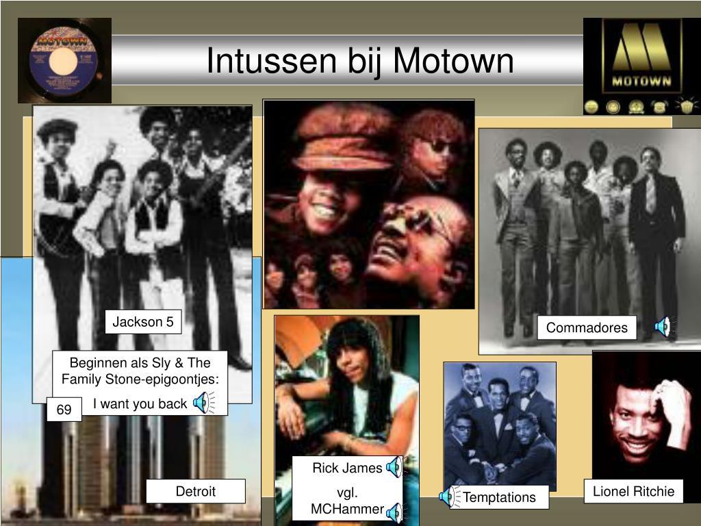 Intussen bij Motown
