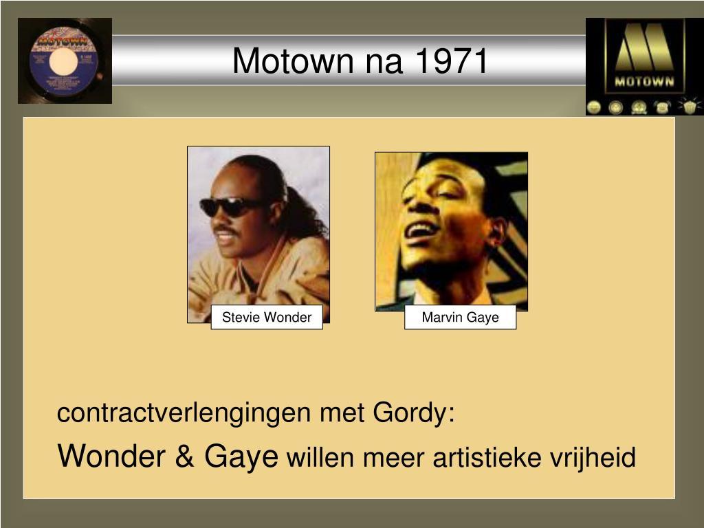 Motown na 1971