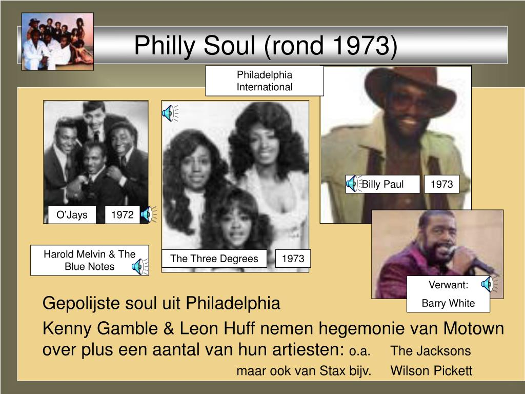 Philly Soul (rond 1973)