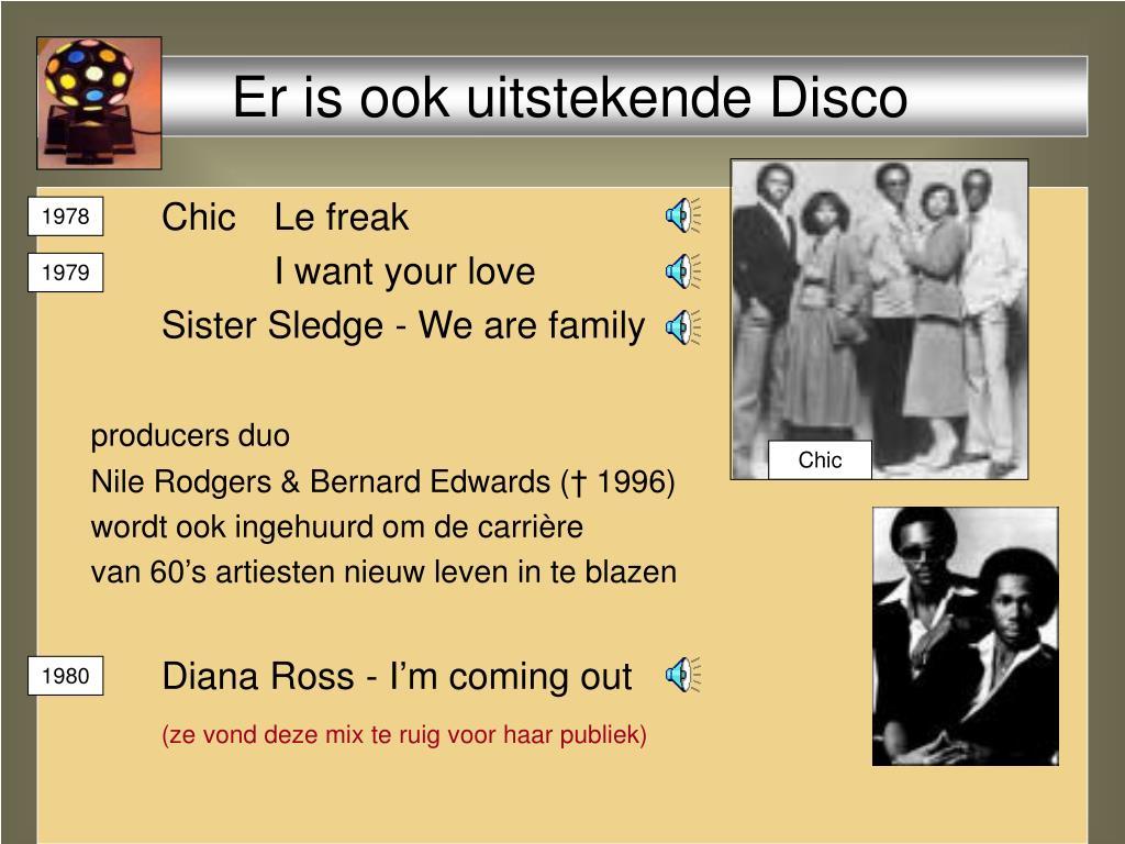 Er is ook uitstekende Disco