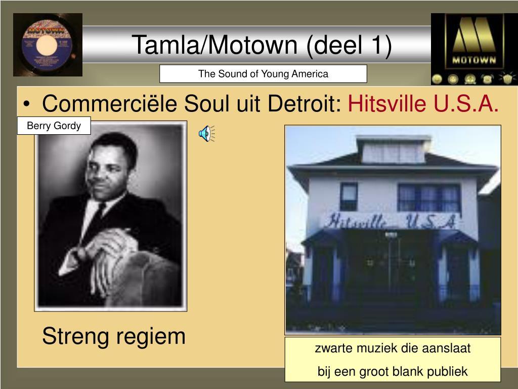 Tamla/Motown (deel 1)