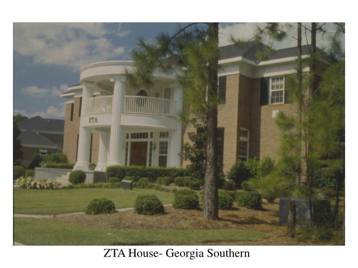 ZTA House- Georgia Southern