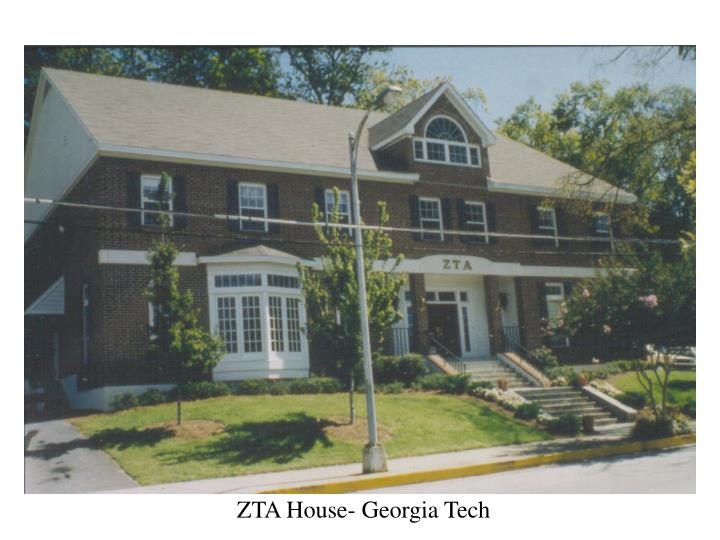 ZTA House- Georgia Tech