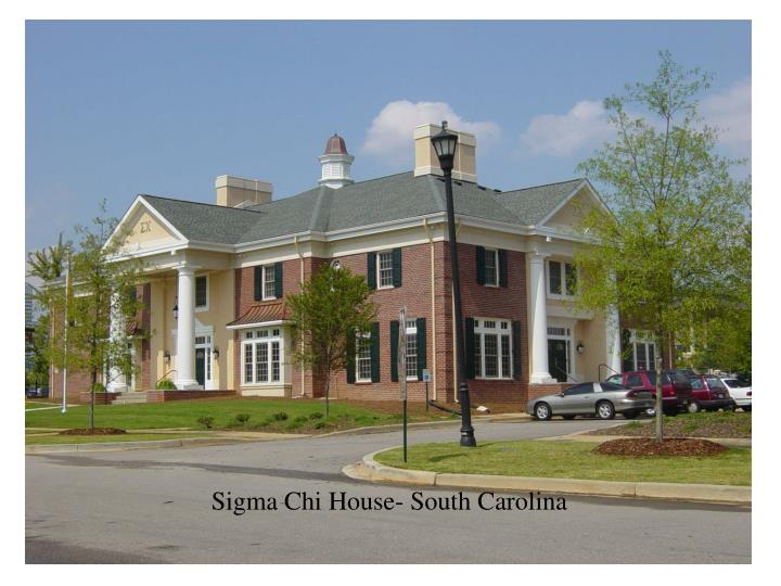 Sigma Chi House- South Carolina