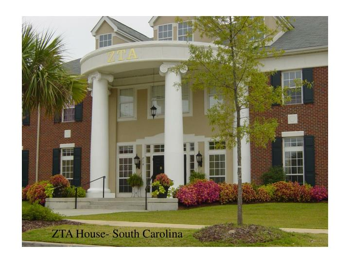 ZTA House- South Carolina