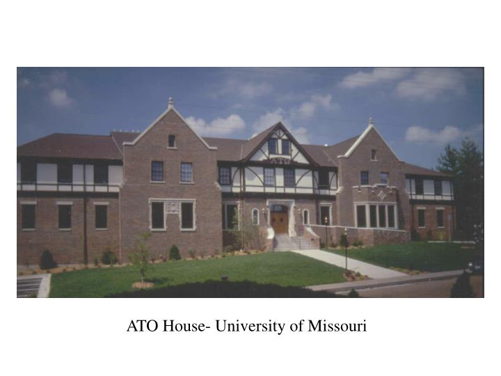 ATO House- University of Missouri