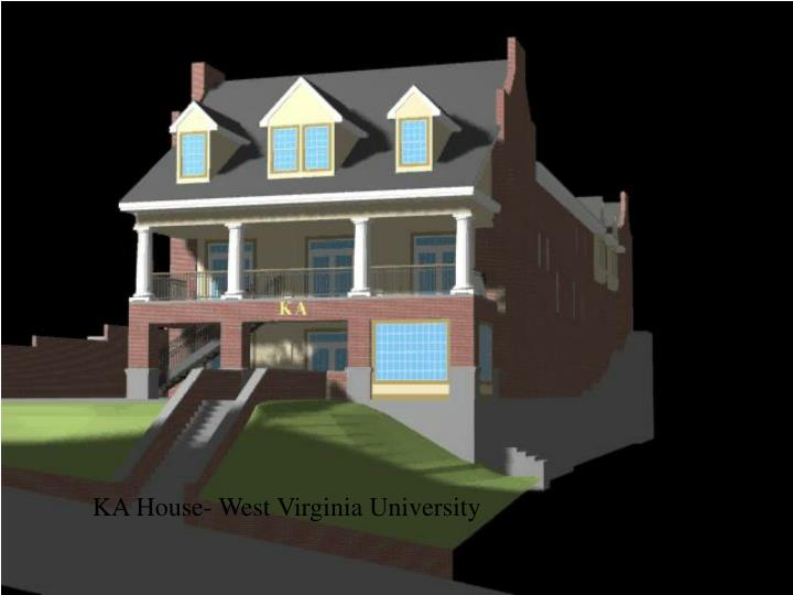 KA House- West Virginia University
