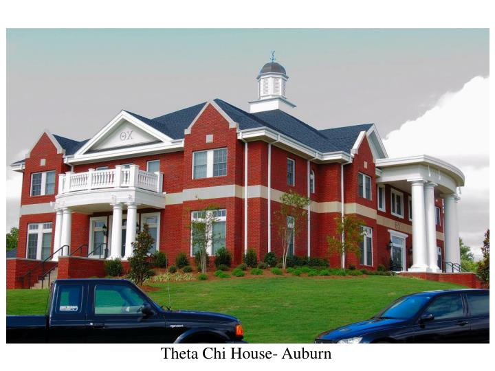 Theta Chi House- Auburn